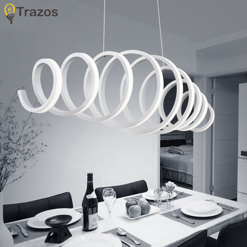 Novelty led Pendant Light for Kitchen Dining Room White Pendant Lamp for Coffee House Bedroom Suspension Hanging Ceiling Lamp cartoon kids light led beside toys kids pendant light lamp kids room night light for children bedroom hanging head lamp