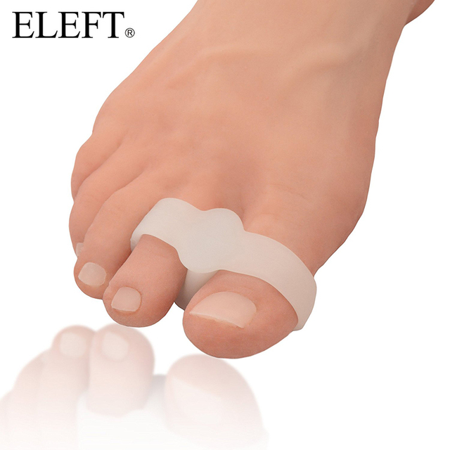 ELEFT 2 Piece Bicyclic Reinforce Appliance Bunion foot care shoes accessories Orthotic Gel Insoles Orthopedic Silicone Shoe Pad