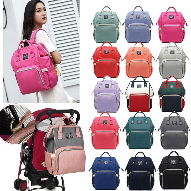 Baby Bags For Mom Large Capacity Nappy Bag Waterproof Maternity Travel Backpack Designer Nursing Mummy Bag Care Stroller Handbag