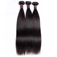 Clover Leaf virgin remy hair 100% unprocessed 3 bundles with hair cuticle14 26inch in stock for salon hair extensions