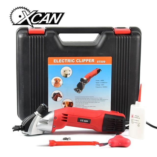 XCAN 500W Electric shearing clipper for Animal trim hair cutter ST009 shearing machine + one 13T sheep clipper cutter/blade