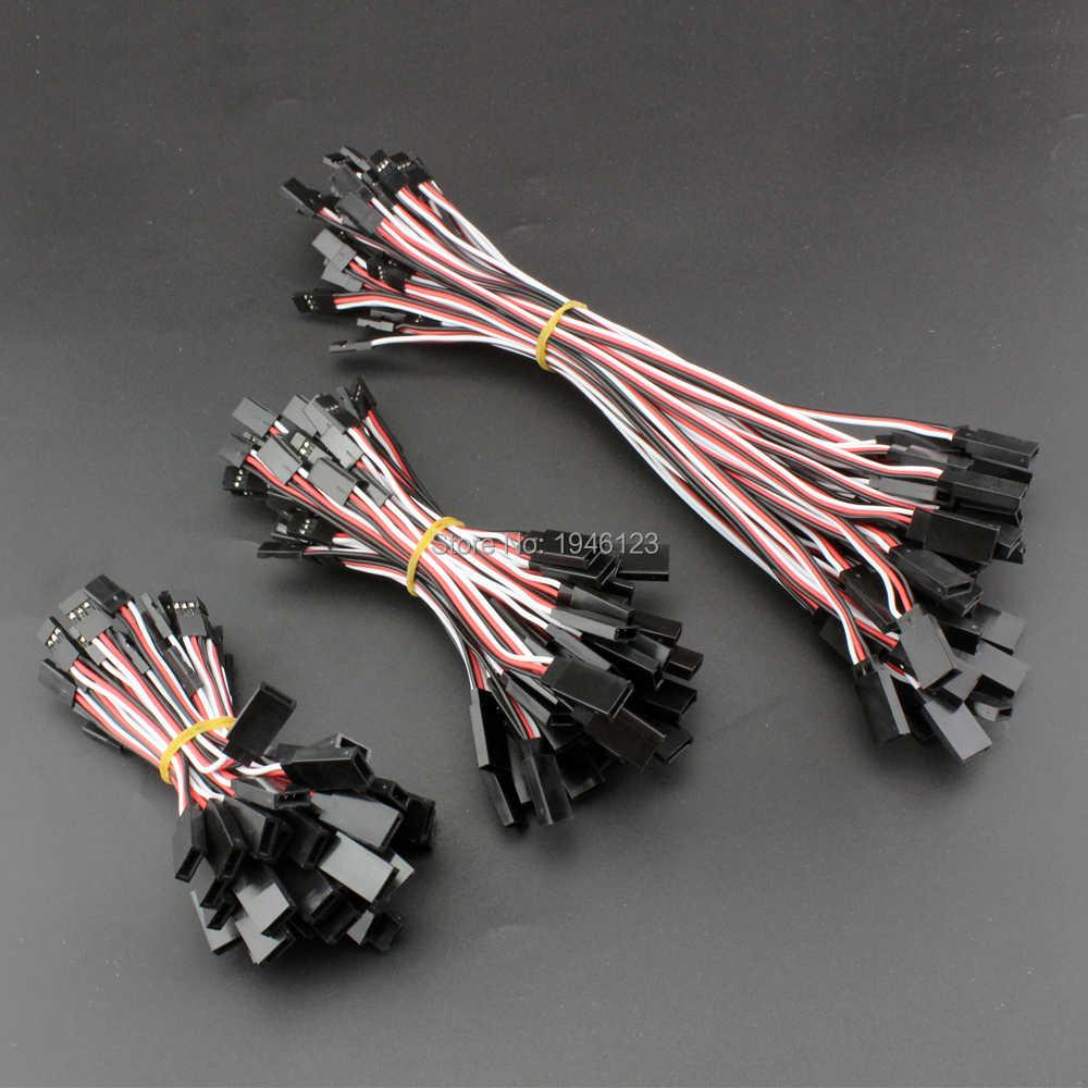 10 sztuk/partia FUTABA serwo rozszerzenie linii kablowej 30 rdzeń 60 rdzeń 6 cm 10 cm 20 cm 30 cm 60 cm 90 cm rozszerzenie linii