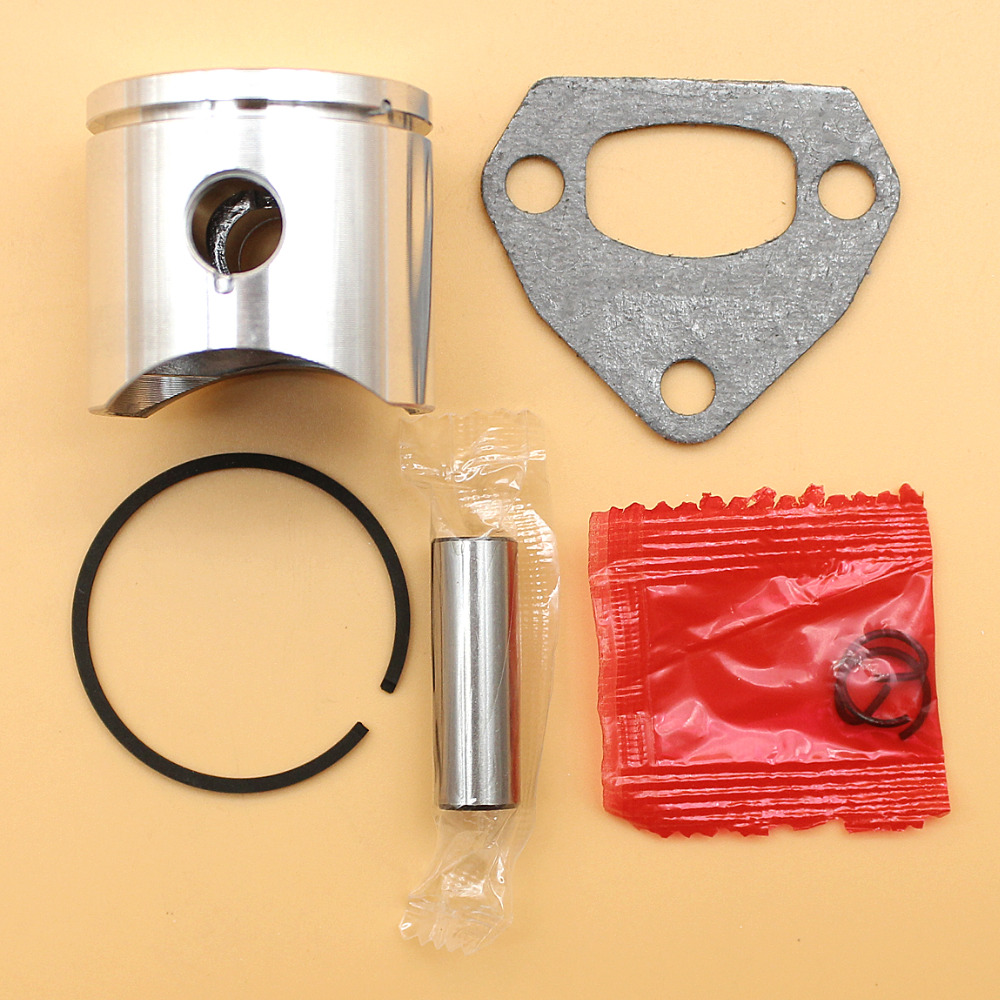 38mm Piston Ring Muffler Gasket Kit For Husqvarna 136 136LE 137 137E 36 142 142E Chainsaw Engine Motor Parts in Chainsaws from Tools