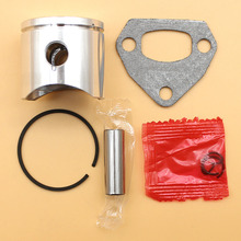 38mm Piston Pin Ring w Muffler Gasket Kit For HUSQVARNA 136 137 36 #530 06 99-40 Chainsaw 2-Stroke Engine Exhaust Muffler Parts 2016 new 066 064 ms640 ms650 ms660 dual port exhaust muffler new chainsaws chainsaw parts kit