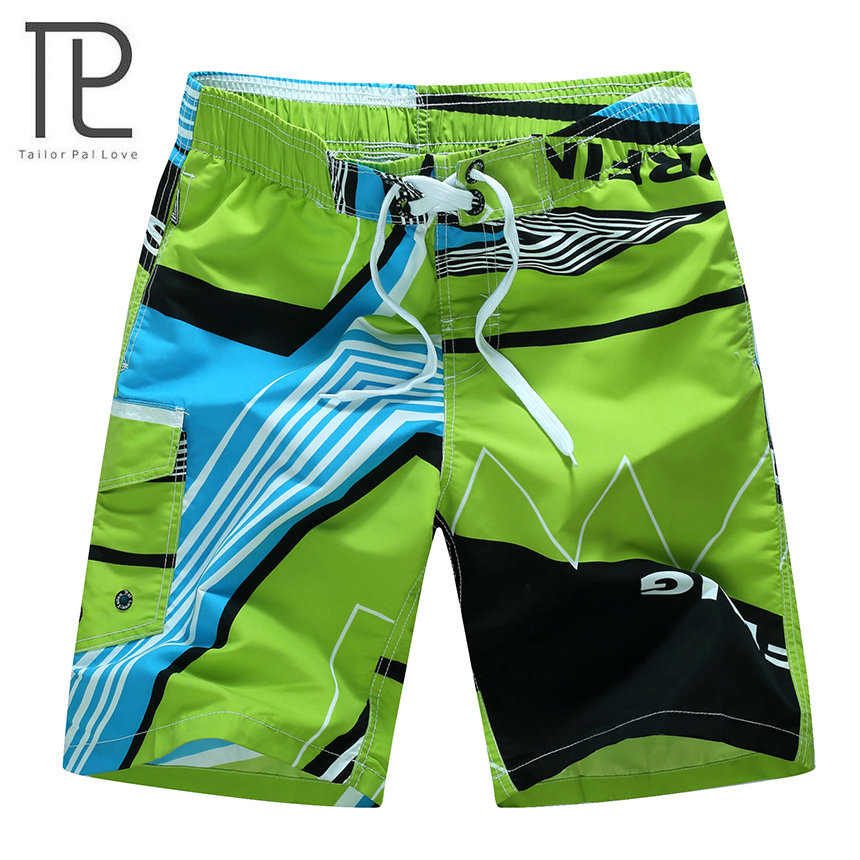 2018 Nova Beachwear Fresco dos homens Board Shorts Quick Dry Esportes Aquáticos Natação troncos Calções de Praia Verão M-6XL Extra Grande 10 + cores