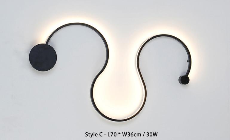 L70xW36cm 30W