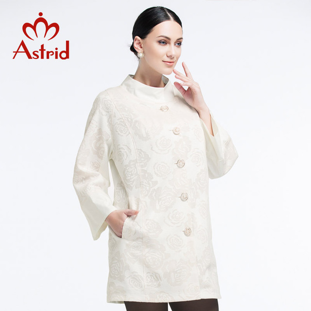 Астрид 2019 новая куртка женская в осень и весну плащ женский высокое качество мода плащ куртки женские осень Большой размер L XL XXL s-3xl 4XL 5XL бесплатно доставка в Украину AS-2082