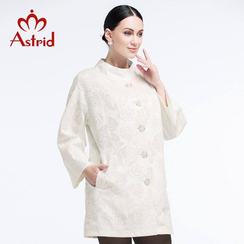 New Summer Women High Quality Fashion   Trench   Coat Plus Size Clearance sale Astrid 2019 AS-2082