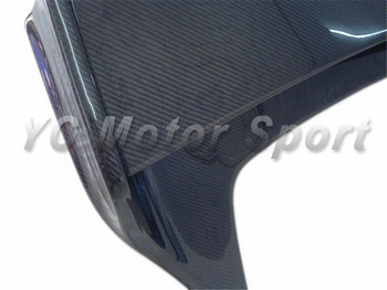 Car Accessories Full Carbon Fiber VS Style Rear Spoiler Fit For 2003-2007 G35 2D Coupe Trunk Spoiler Wing