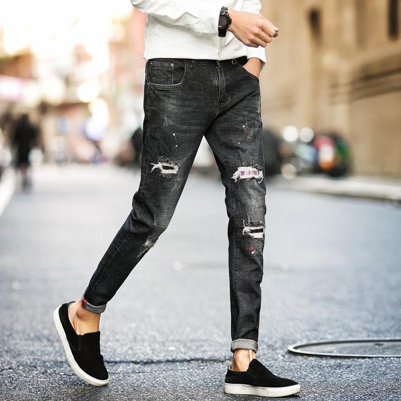 Aliexpress.com : Buy Spring Pants Men Jeans Fashion 2017 ...