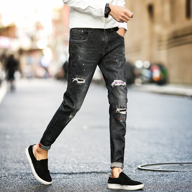 Buy spring pants men jeans fashion 2017 - Jeans trend 2017 ...