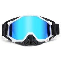 KUTOOK UV Protection Snowmobile Goggles Men Women Ski Glasses Anti fog Snowboard Goggles With Case Face Mask Winter Snow Sports