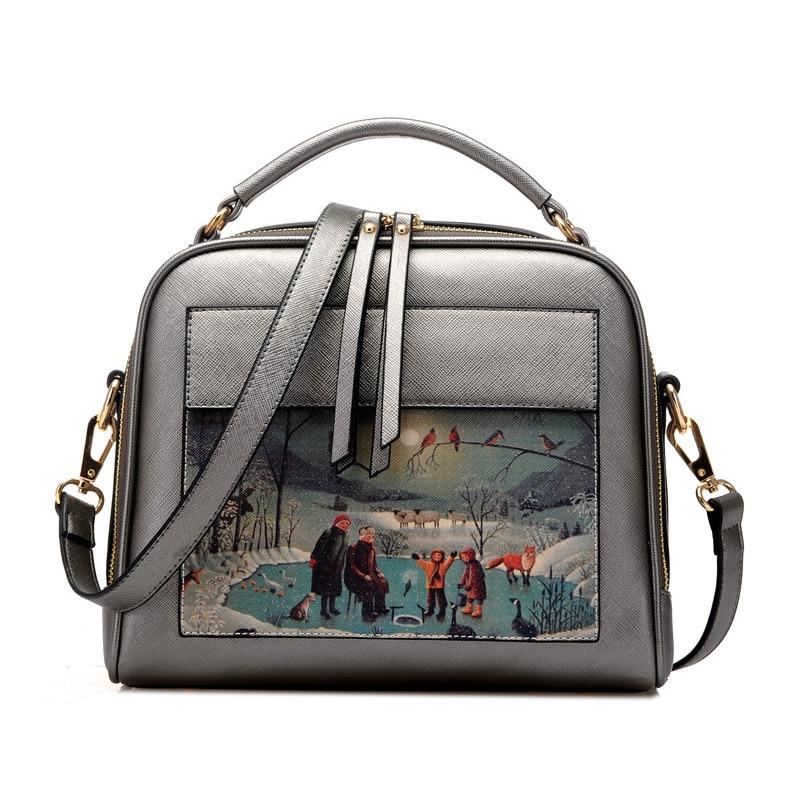 doodle padrão de moda bolsa Material Principal : Plutônio