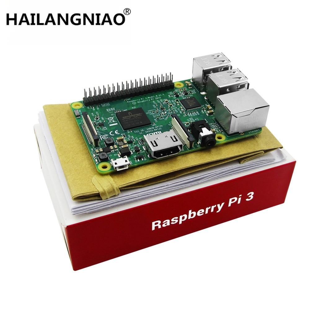 2016 New Element14 original Raspberry Pi 3 Model B Board 1GB LPDDR2 BCM2837 Quad-Core Ras PI3 B,PI 3B,PI 3 B with WiFi&Bluetooth raspberry pi 3 model b raspberry pi raspberry pi3 b pi 3 pi 3b with wifi