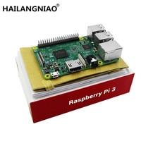 2016 New Element14 Original Raspberry Pi 3 Model B Board 1GB LPDDR2 BCM2837 Quad Core Ras