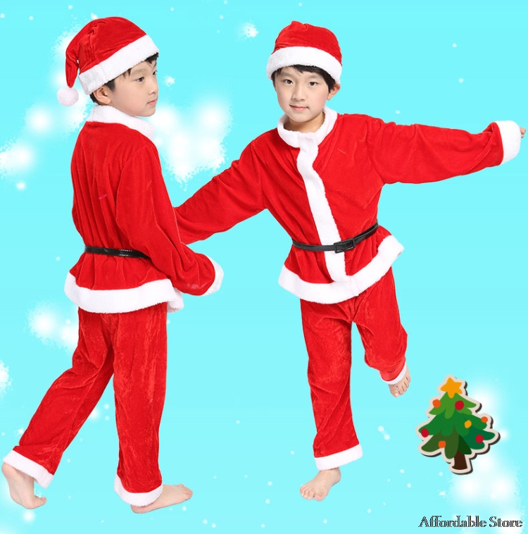 Children Christmas Clothes Christmas Eater Dress Santa Claus Santa Claus Dress Santa Claus Santa Claus Dress