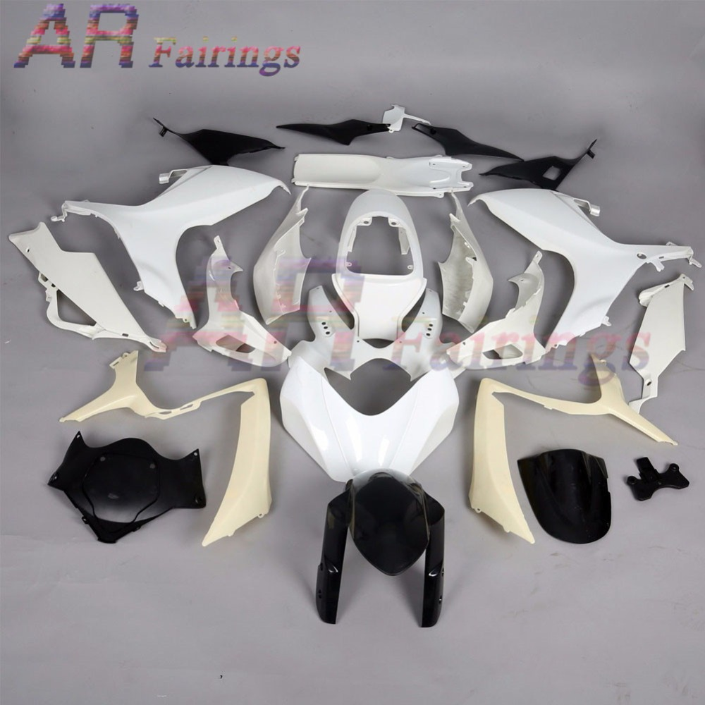 06-07 For Suzuki <font><b>GSXR</b></font> GSX-R <font><b>600</b></font> 750 Unpainted Molding Injection <font><b>Fairing</b></font> Kit Bodywork GSX600R GSX-R600 GSXR600 GSXR750 <font><b>2006</b></font> 2007 image