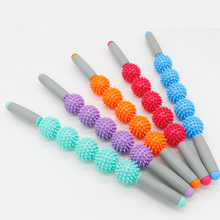 Yoga Roller Muscle Massage Stick Tension Relief Balls Exercise Workouts Pilates Yoga Point Spiky Ball Accessories 6ec100b404 15ec100f411 makino urethane tension roller od104 id30 14mm for makino u53 wedm ls wire cutting accessories parts