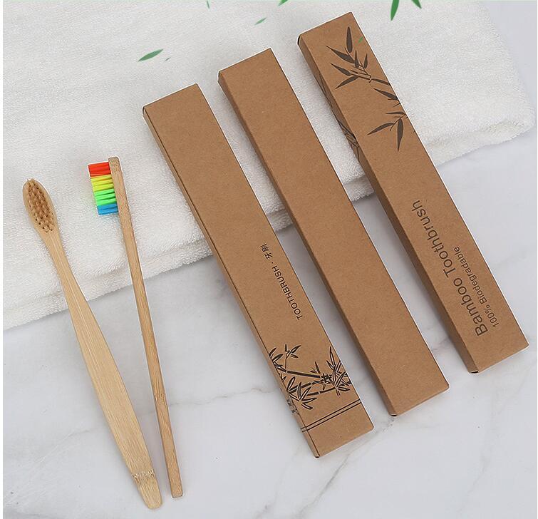 Cerdas Macias de Bambu Natural Alça De
