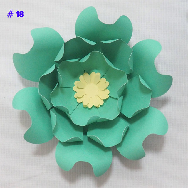 Aliexpress buy latest giant paper flowers artificial rose diy latest giant paper flowers artificial rose diy large paper rose wedding event backdrop baby nursery mightylinksfo