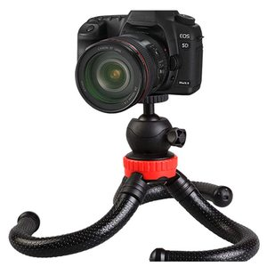 Гибкий спонж Осьминог Мини штатив с Bluetooth дистанционного спуска затвора камеры микро-один для Gopro Автоспуск Осьминог мобильный телефон