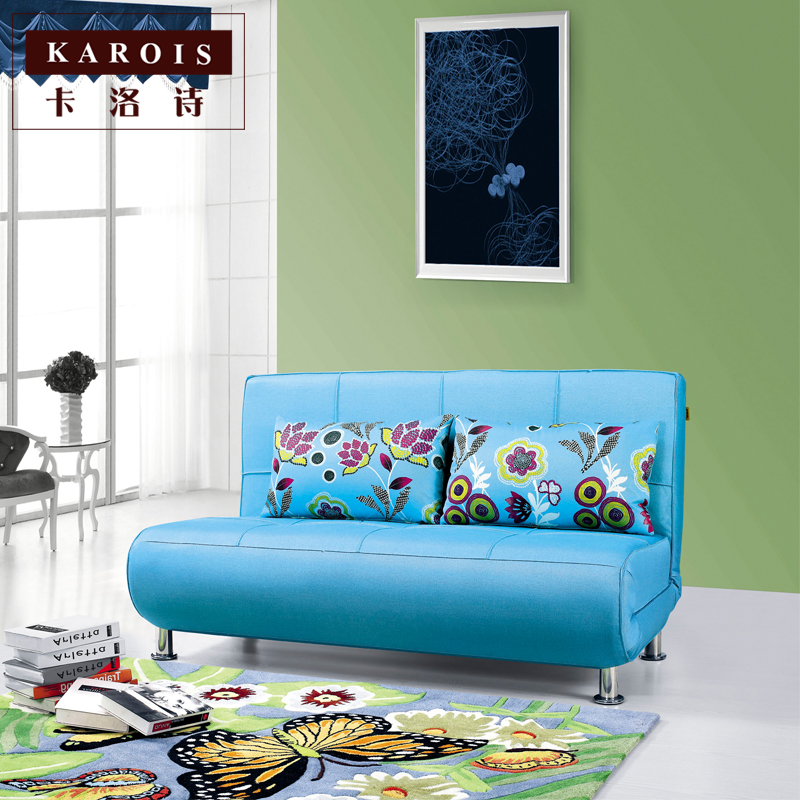 A6037 Multi-function folding, removable and wash the modern home sofa bed, modern minimalist furniture