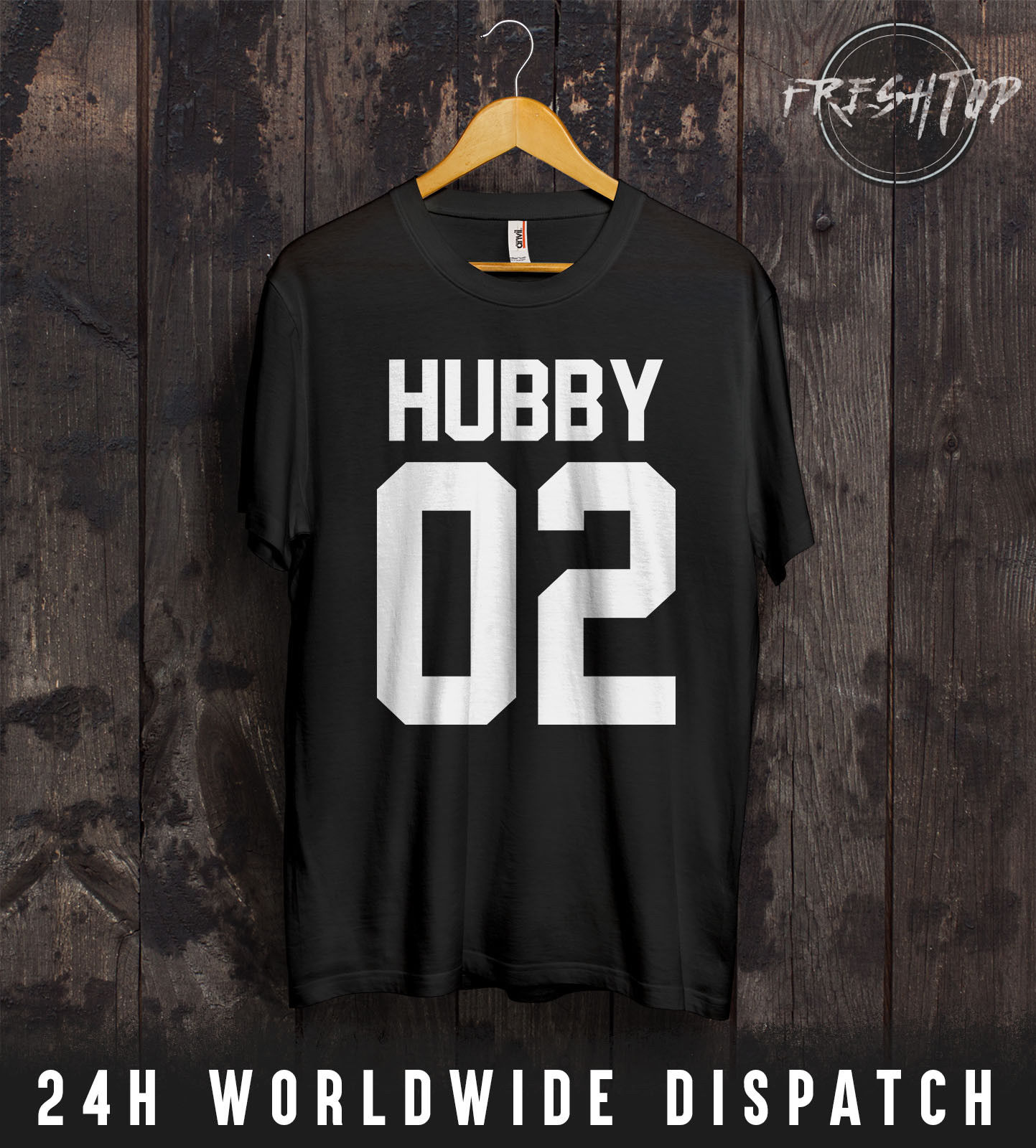 a78727da0b Hubby Wifey 01 02 T Shirt Couple Matching Gift Idea The King His Queen  Husband New Tee New Unisex Funny Tops freeshipping