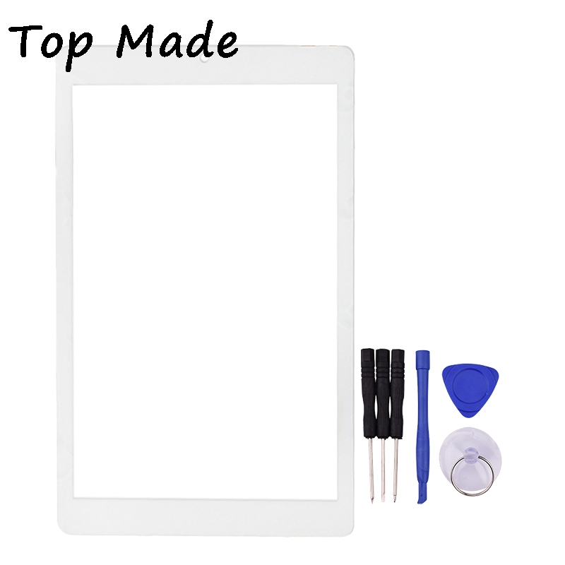8 inch Touch Screen for  OneTouch Pixi 3 (8) 4g 8070 Tablet PC Digitizer Glass Panel Sensor Replacement with Free Tools high quality 9 inch black touch screen dh 0926a1 pg fpc080 v3 0 glass panel sensor replacement with repair tools