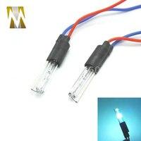2 шт. специальная Замена ксеноновая лампа для HID проектора объектив ксеноновая лампа 35 Вт 4300 k 6000 k 8000 k DC 18 мм