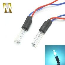 2 шт. специальная замена HID ксеноновая лампа для HID объектив проектора ксеноновая лампа 35 Вт 4300 К 6000 к 8000 к DC 18 мм
