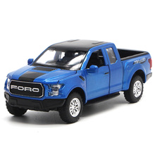 KIDAMI 1:32 Raptor F150 Pickup Truck Toys for Children Sound & Light MINIAUTO Alloy Diecast Car Model Gifts
