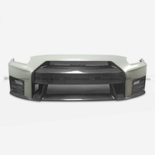Carbon Fiber Front Bumper with front lip (For CBA DBA) Car-styling Accessories Fit For Nissan GTR R35 Nismo Ver2
