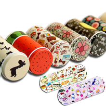 20 pcs/box Cartoon Band Aid Box First aid kit Outdoor Emergency Medical Tool Portable Bandages Household For Kids Children