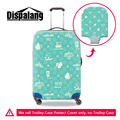 Popular Travel Accessories For 18-30 Inch Suitcase Cute Graffiti Waterproof Elastic Luggage Protect Cover Fashion Suitcase Cover