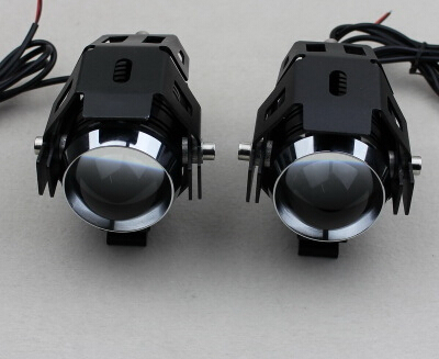 ФОТО STARPAD Free shipping for LIGHTING modified motorcycle install fog lights super bright  LED side convex lens fisheye Spotlight