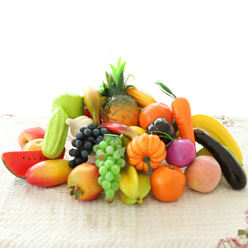 Online buy wholesale artificial fruit decor from china for Decoration fruit