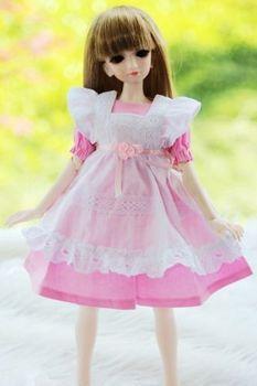 [ Wamami ] 220 # розовый платье костюм 1/4 MSD DZ бжд Dollfie