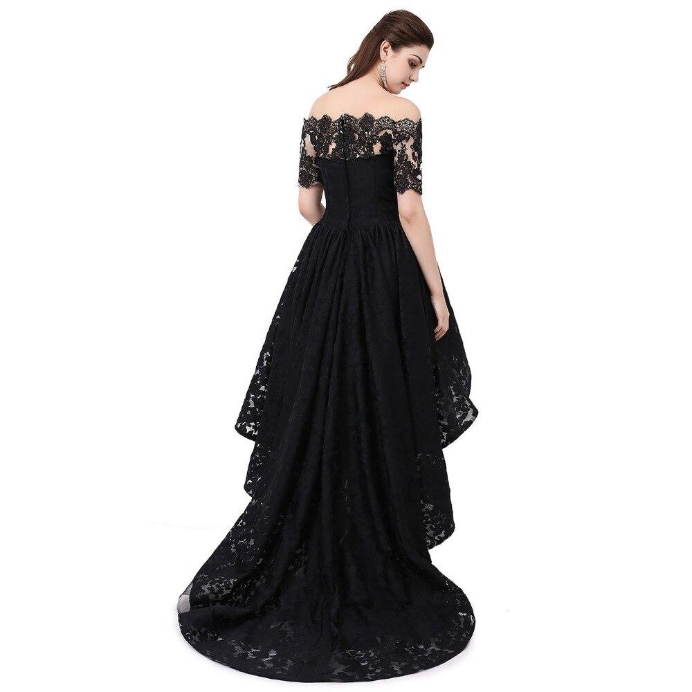 Hi Low Prom haljina s ramena Lijepe haljine za tinejdžerke Plus - Haljina za posebne prigode - Foto 3