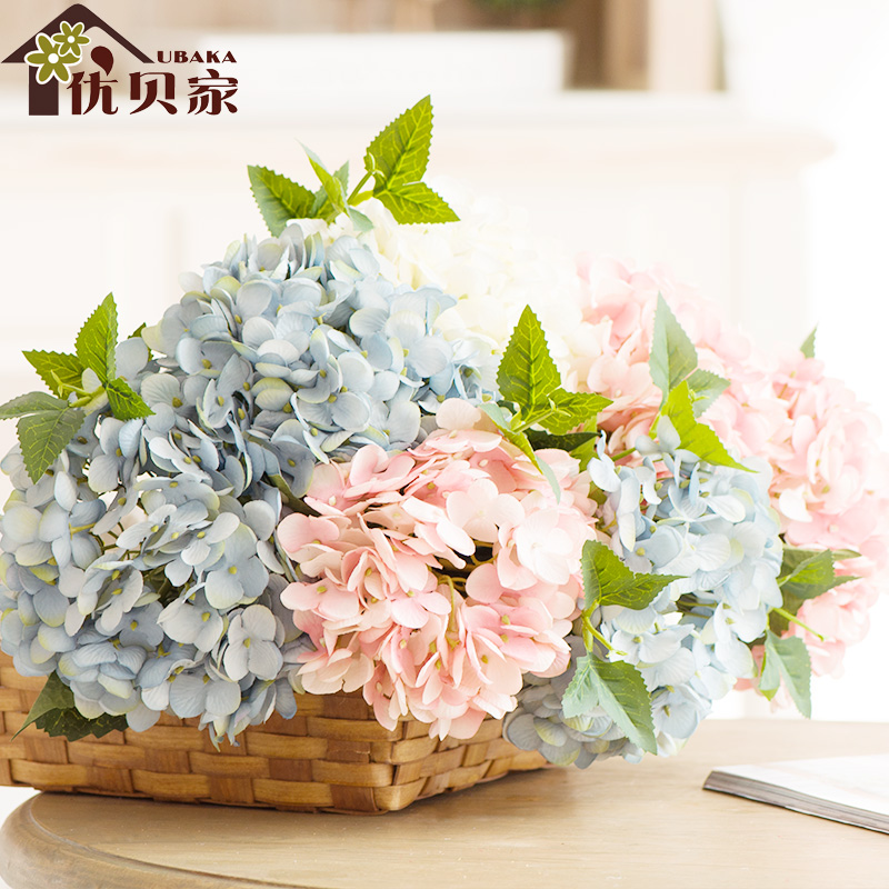 Aliexpress Com Buy 12 Color Artificial Flowers Hydrangea Home Decor Ornaments Silk Flowers From Reliable Silk