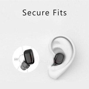 Image 5 - FANGTUOSI Mini Bluetooth Earphone Wireless Headset stereo earbuds hidden micro earpiece With Mic For iPhone X 7 Earbud Earphones
