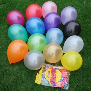 10 teile/los 10 zoll Milch Weiße Latex Ballon Aufblasbaren Kugeln Kinder Geburtstag Luftballons Hochzeit Dekoration Schwimmerkugeln