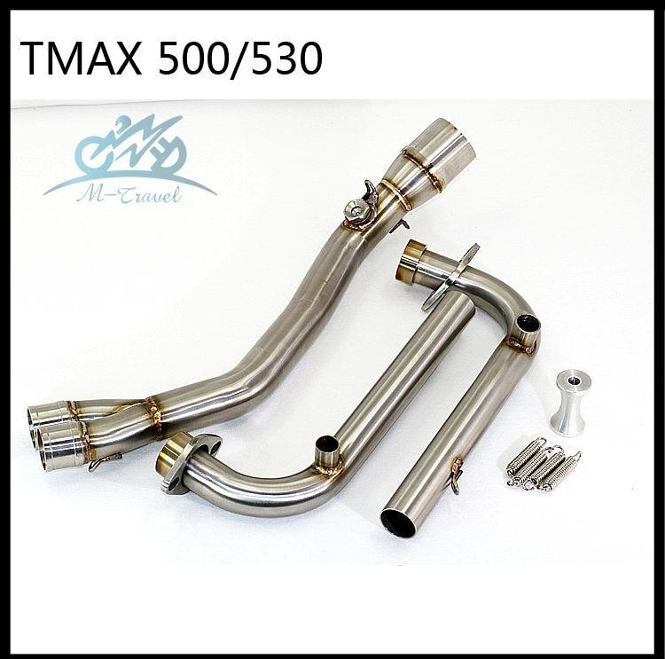 Motoruitlaat Volledig systeem VOOR Tmax 500 TMAX530 2008-2016 zonder - Motoraccessoires en onderdelen