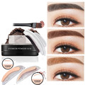 Hot Fashion Brow Stamp Powder Delicated Natural Perfect Enhancer Straight United Eyebrow