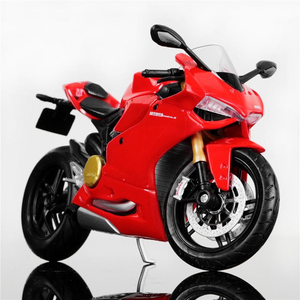 Mini Bike Ducati : Scale die cast metal tank ducati panigale