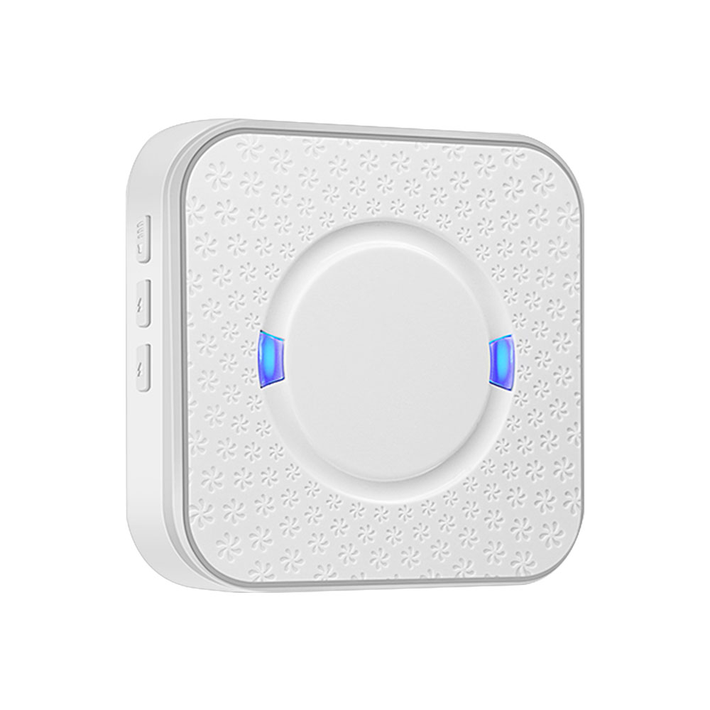 Chime Ding Dong Wireless Doorbell Receiver AC 90V-250V 52 Chimes 110dB Wifi Doorbell Camera Low Power Consumption Indoor Bell