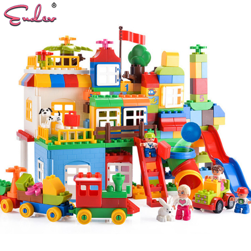 Endev Kids bricks gift 210pcs Big Size Building Blocks ...