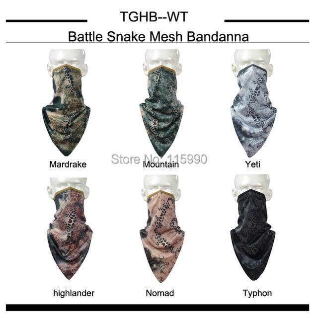 De secado rápido Tri-angle bufanda / Nomad pañuelo bandana / camo pañuelo bandana / a caballo senderismo bufandas deportivas / Outddoor camo bufandas