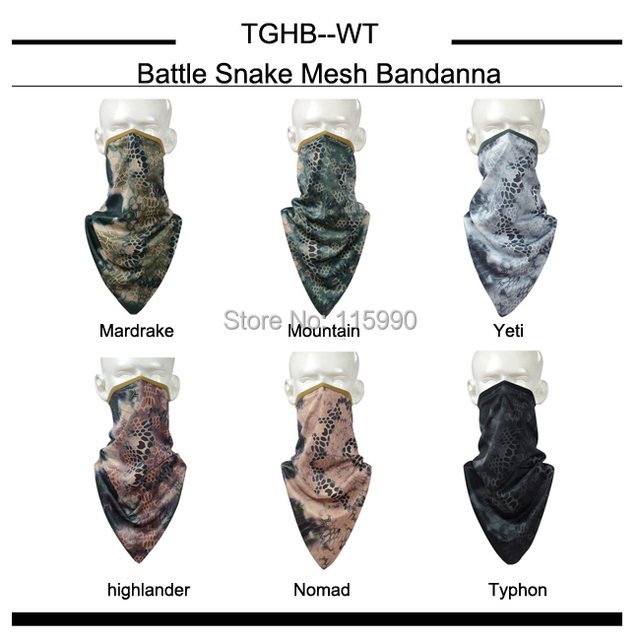 Quick- dry Tri-angle Scarf / Nomad bandanna/ camo Bandanna/Riding Hiking Sports scarves/ Outddoor camo scarves