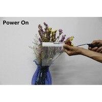 15x15cm Smart PDLC Smart Window Film Power Window Electrochromic Film Switchable Glass
