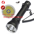 Diving Flashlight LED CREE XHP70 Professional Aluminum light cup Power Promise dimming Outdoor
